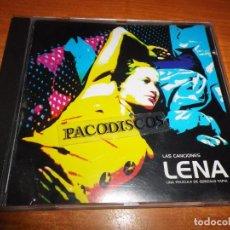 CDs de Música: LAS CANCIONES DE LENA BANDA SONORA CD ALBUM 2001 BACCARA GUTTO COOL HIPNOISE CARLS JEAN KANNON . Lote 104729931