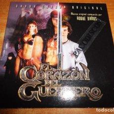 CDs de Música: EL CORAZON DEL GUERRERO BANDA SONORA CD ALBUM PROMO CARTON ROQUE BAÑOS SUBTERFUGE 15 TEMAS. Lote 104732839