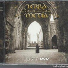 CDs de Música: TERRA MEDIA - EL MEJOR CHILL OUT MEDIEVAL - CD + DVD BIT 2006. Lote 104757347