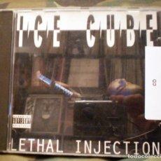 CDs de Música: ICE CUBE – LETHAL INJECTION CD 1993 HIP HOP GANGSTA . Lote 104759727