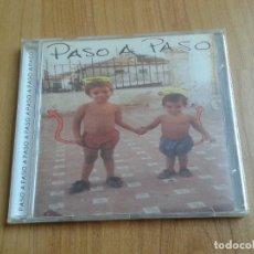 CDs de Música: PASO A PASO -- CANCIÓN DE AUTOR PUNK -- SENTIMIENTOS CONTRA EL PODER -- DESCATALOGADO -- MADRID 2002. Lote 105027235