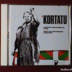 CDs de Música - Kortatu-A Frontline Compilation (cd. Oihuka) Fermin e Iñigo Muguruza. recopilatorio - 104772751