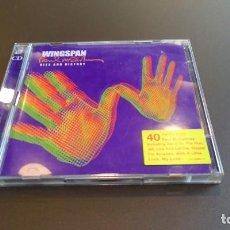 CDs de Música: WINGSPAN , PAUL MCCARTNEY HITS AND HISTORY. Lote 104778359