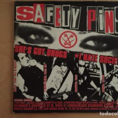 CDs de Música: SAFETY PINS: SHE'S GOT DRUGS-I HATE SOCIETY-NYMPHO GIRL-TEENAGE ALCOHOLIC (CDEP). Lote 104793503