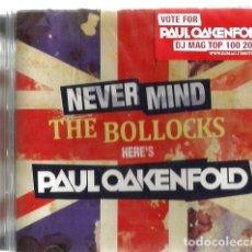 CDs de Música: DOBLE CD NEVER MIND THE BOLLOCKS / HERE´S PAUL OAKENFOLD ( ELECTRONICA, ACID HOUSE, TRANCE ). Lote 104828123