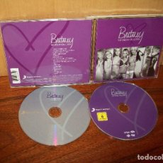 CDs de Música: BRITNEY SPEARS - THE SINGLES COLLECTION - DOBLE CD. Lote 242148280