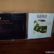 CDs de Música: MUGGSY SPANIER CON PEE WEE RUSELL - THE JAZZ MASTERS - 100 AÑOS DE SWING - CD . Lote 104867635
