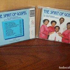 CDs de Música: THE SPIRIT OF GOSPEL - JOHNNY THOMPSON & THE JOHNNY THOMSON SINGERS -CD . Lote 104869175