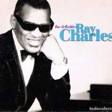 CDs de Música: THE DEFINITIVE RAY CHARLES CD ( 2 CD). Lote 104892855