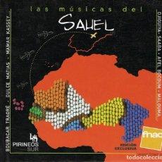 CDs de Música: LAS MÚSICAS DEL SAHEL ( CD + LIBRO). Lote 104893831