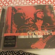 CDs de Música: OASIS / 2 CD / FAMILIAR TO MILLIONS. Lote 104908566