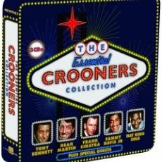 CDs de Música: THE ESSENTIAL CROONERS COLLECTION * BOX SET 3CD * LTD. CAJA METÁLICA * PRECINTADA!. Lote 104910199