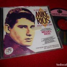 CDs de Música: MIKE RIOS SUS MEJORES EPS VOL.1 PRIMERAS GRABACIONES CD 1998 RAMA LAMA. Lote 104939343