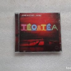 CDs de Música: JEAN MICHEL JARRE - TEO & TEA CD + DVD 2007 AERO PRODUCTIONS. Lote 104955299