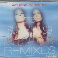 CDs de Música: AZÚCAR MORENO MAXI CDTHE SUMMER 99 REMIXES OLÉ PABLO FLORES. Lote 104977583