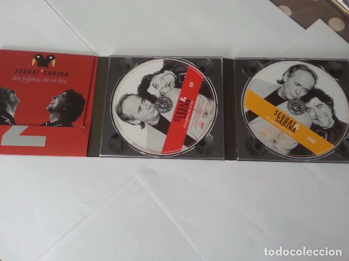 CDs de Música: DOS PAJAROS DE UN TIRO ( CD+DVD ) .Serrat y Sabina. - Foto 2 - 104979335