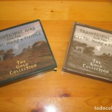 CDs de Música: 2 CD - TRADITIONAL AIRS FOR THE CELTIC HARP FIDDLE -GOLD COLLECTION - VER DETALLES. Lote 104988507