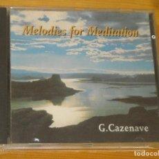CDs de Música: CD - GUILLERMO CAZENAVE - MELODIAS MEDITACION -MELODIES MEDITATION - VER DETALLES. Lote 104995303