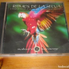 CDs de Música: CD - RITMOS DE LA SELVA - NATURE'S HARMONY - VER DETALLES. Lote 104995659