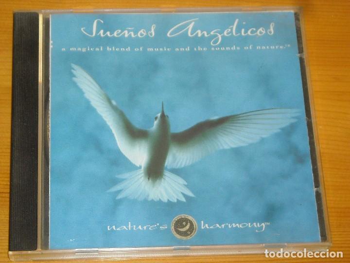 CD - SUEÑOS ANGELICOS - NATURE'S HARMONY - VER DETALLES (Música - CD's New age)