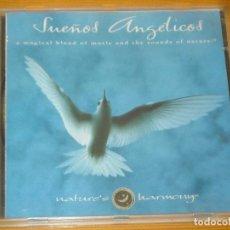 CDs de Música: CD - SUEÑOS ANGELICOS - NATURE'S HARMONY - VER DETALLES. Lote 104995715