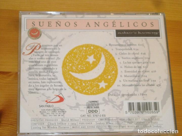 CDs de Música: CD - SUEÑOS ANGELICOS - NATURES HARMONY - VER DETALLES - Foto 2 - 191479483