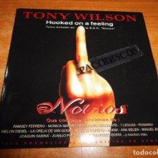 CDs de Música: TONY WILSON HOOKED ON A FEELING BANDA SONORA NOVIOS CD SINGLE PROMO CARTON 1999 ESPAÑA 2 TEMAS. Lote 105021639