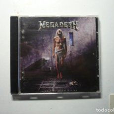CDs de Música: MEGADETH - COUNTDOWN TO EXTINCTION (1992) CD.. Lote 105091955