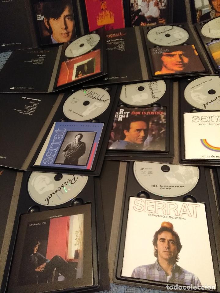 CDs de Música: JOAN MANUEL SERRAT : SERRAT PERSONAL ( COLECCION DE 25 CD´S CON LIBRETO) - Foto 2 - 105119295