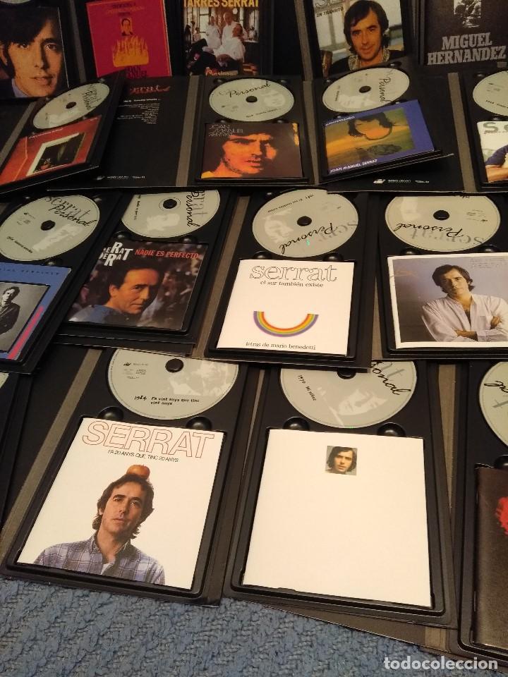 CDs de Música: JOAN MANUEL SERRAT : SERRAT PERSONAL ( COLECCION DE 25 CD´S CON LIBRETO) - Foto 3 - 105119295