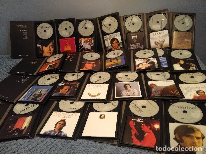 CDs de Música: JOAN MANUEL SERRAT : SERRAT PERSONAL ( COLECCION DE 25 CD´S CON LIBRETO) - Foto 4 - 105119295