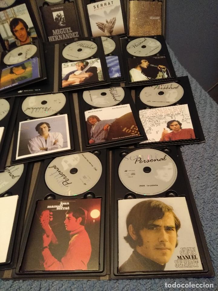 CDs de Música: JOAN MANUEL SERRAT : SERRAT PERSONAL ( COLECCION DE 25 CD´S CON LIBRETO) - Foto 5 - 105119295