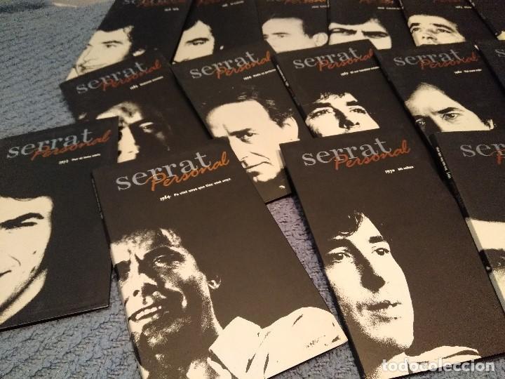 CDs de Música: JOAN MANUEL SERRAT : SERRAT PERSONAL ( COLECCION DE 25 CD´S CON LIBRETO) - Foto 6 - 105119295