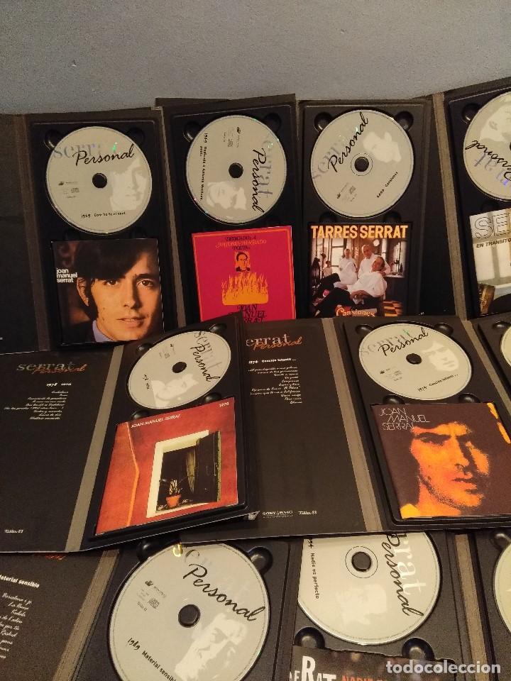 CDs de Música: JOAN MANUEL SERRAT : SERRAT PERSONAL ( COLECCION DE 25 CD´S CON LIBRETO) - Foto 8 - 105119295