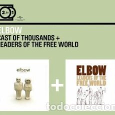 CDs de Música: CAST OF THOUSANDS & LEADERS FROM THE FREE WORLD (2 EN 1 CD DIGIPACK) (ELBOW). Lote 105121175