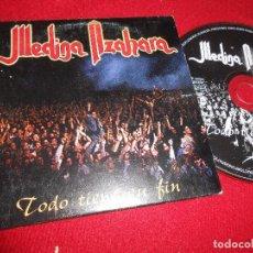 CDs de Música: MEDINA AZAHARA TODO TIENE SU FIN CD SINGLE 1997 PROMO MODULOS. Lote 105159107