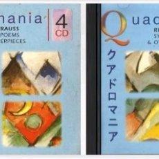 CDs de Música: R247 - QUADROMANIA. RICHARD STRAUSS. SYMPHONIC POEMS. SET PACK EN ESTUCHE 4 DISCOS. CDS.. Lote 105162111