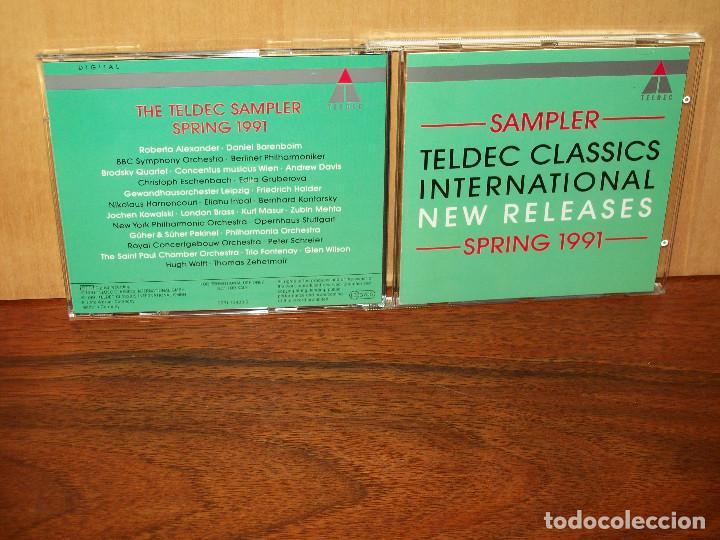 TELDEC CLASSICS INTERNACIONAL - NEW RELEASES - SPRING 1991 - CD
