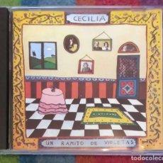 CDs de Música: CECILIA (UN RAMITO DE VIOLETAS) CD 1992. Lote 105217219