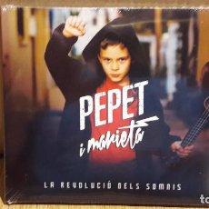 CDs de Música: PEPET I MARIETA / LA REVOLUCIÓ DELS SOMNIS - DIGIPACK-CD / MUSICA GLOBAL. 12 TEMAS / PRECINTADO.. Lote 105234299