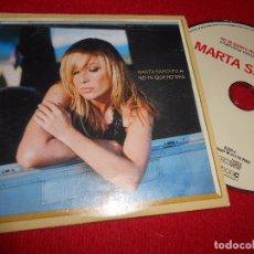 CDs de Música: MARTA SANCHEZ NO TE QUIERO MÁS CD SINGLE 2002 PROMO. Lote 105239571
