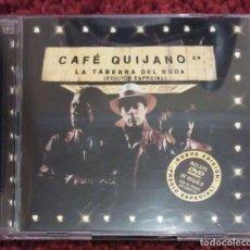 CDs de Música: CAFE QUIJANO (LA TABERNA DEL BUDA - EDICIÓN ESPECIAL) CD + DVD 2002. Lote 105343339