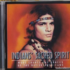 CDs de Música: THE BRAVE. INDIANS´ SACRED SPIRIT. MORE CHANTS AND DANCES OF NATIVE AMERICANS. CD. Lote 105365371
