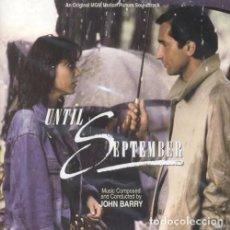 CDs de Música: UNTIL SEPTEMBER / JOHN BARRY CD BSO - KRITZERLAND. Lote 105386403