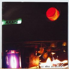 CDs de Música: AKATZ / 12 AÑOS DE EXITOS. Lote 105453071