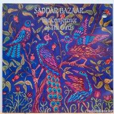 CDs de Música: SADDAR BAZAAR / THE CONFERENCE OF THE BIRDS. Lote 105556911