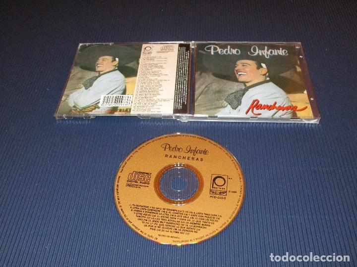 RANCHERAS ( PEDRO INFANTE ) - CD - CDP-010 - PEERLESS (Música - CD's Latina)