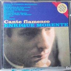 CDs de Música: ENRIQUE MORENTE CANTE FLAMENCO. Lote 105634595