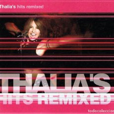 CDs de Música: CD THALIA´S HITS REMIXED . Lote 105642607