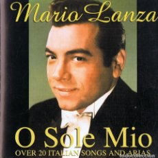CDs de Música: CD MARIO LANZA ¨O SOLE MIO¨. Lote 105646155